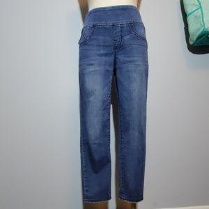 R&R fever crop denim RX jeans 8
